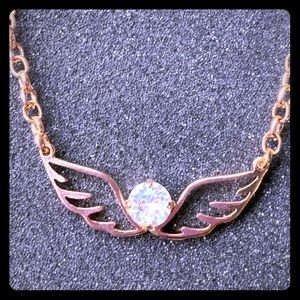 Golden Snitch Necklace Swarovski Harry Potter Fans